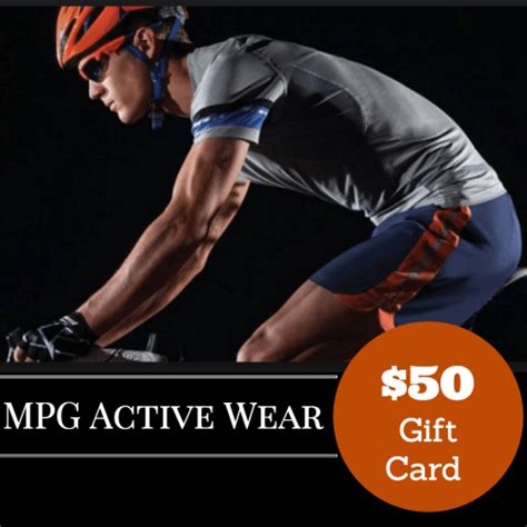 Mpg Get Fit Giveaway - 12 days of fitness giveaway day 8 mpg sport gift cards fit tip daily