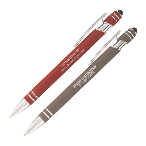 buy pen buy promotional soft touch admiral pen stylus top at