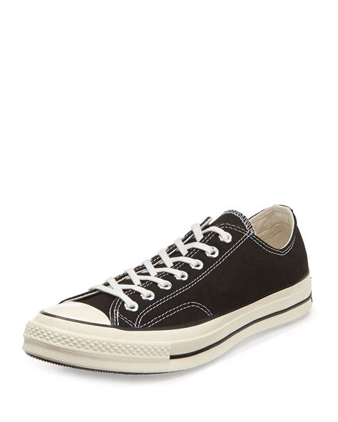 Sepatu Converse Allstar Low Chuck 70s New lyst converse all chuck 70 low top sneaker in black