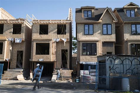 Canadian Housing Starts Hits Six Month High News | housing starts six month upward trend hits decade high