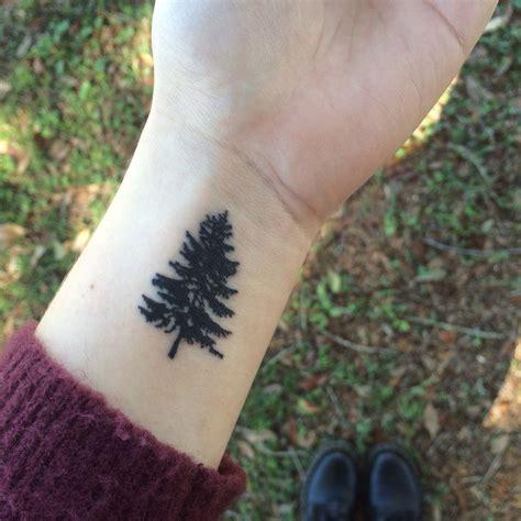 pine tattoo my small pine tree pinteres