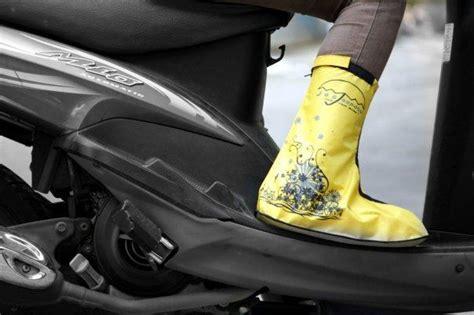 Funcover Sepatu Hujan Merah sepatu jas hujan murah toko sandal sepatu