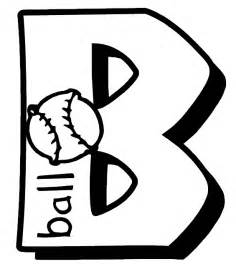 letter b coloring pages letter b coloring page