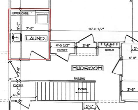 Mud Room Sketch Upfloor Plan by Mud Room Sketch Upfloor Plan Laundry Room Style