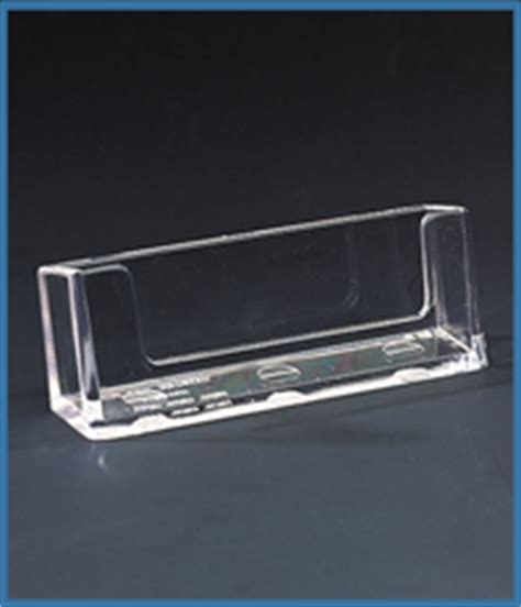 Perspex Business Card Holders