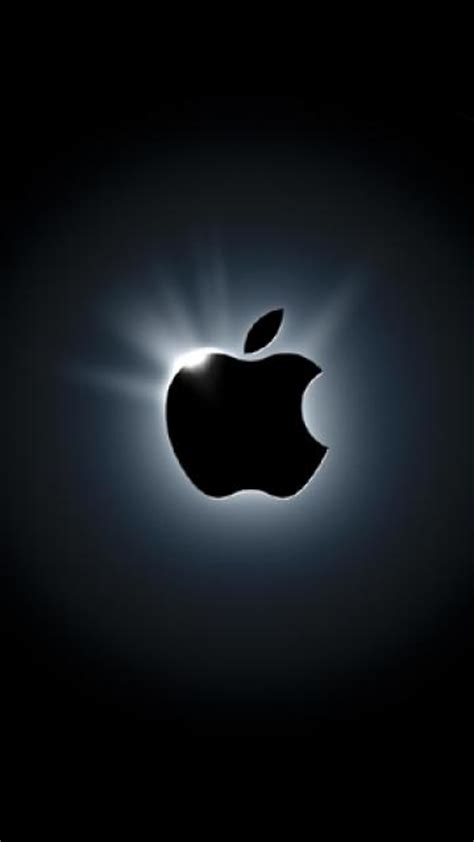 apple wallpaper that comes with the phone dark apple cell phone wallpapers 360x640 cellphone hd
