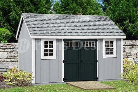 garden storage shed plans    gable roof design