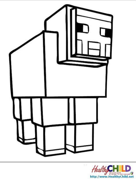 detailed minecraft coloring pages baby coloring sheets