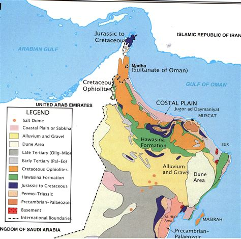 middle east earthquake map geology of the middle east