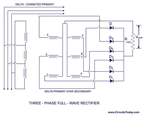 3 phase diode bridge three phase rectifier circuit three free engine image for user manual