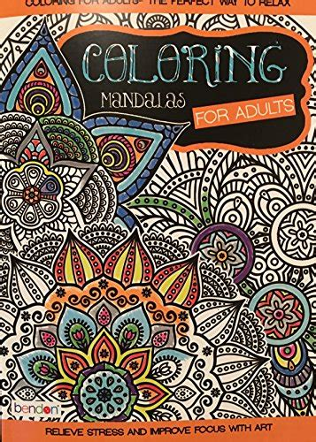 bendon coloring books bendon coloring mandalas for adults coloring book bendon