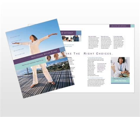 health medical insurance company brochure templates