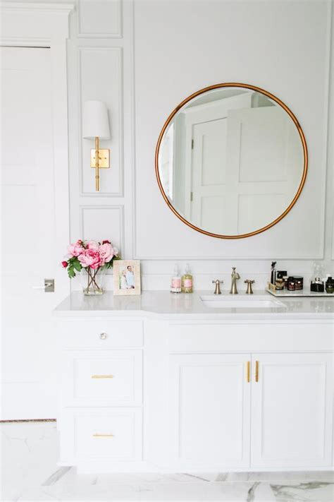 brass bathroom mirrors 25 best ideas about circle mirrors on