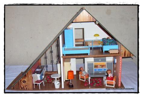 nur dach haus vero eingerichtetes puppenhaus puppenstube nur dach haus