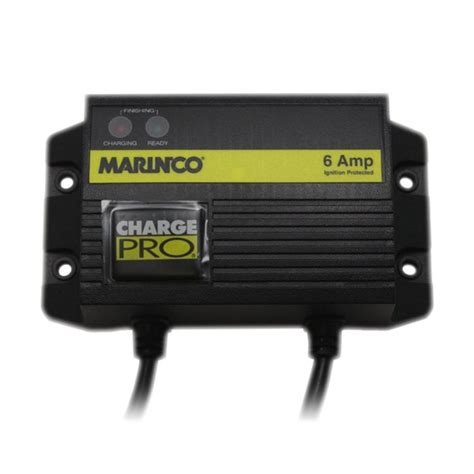 marine battery charger waterproof marinco chargepro 12v 6 waterproof charger 28106