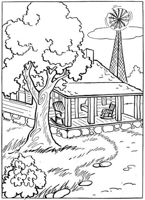 western landscape coloring page coloring pages western coloring pages for kids pinterest