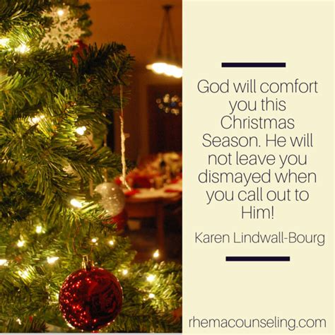 god will comfort you dealing with negative emotions during the holidays rhema