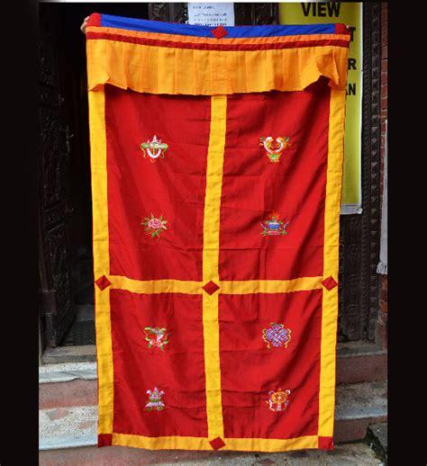 tibetan door curtain tibetan eight auspicious lucky symbols door curtain