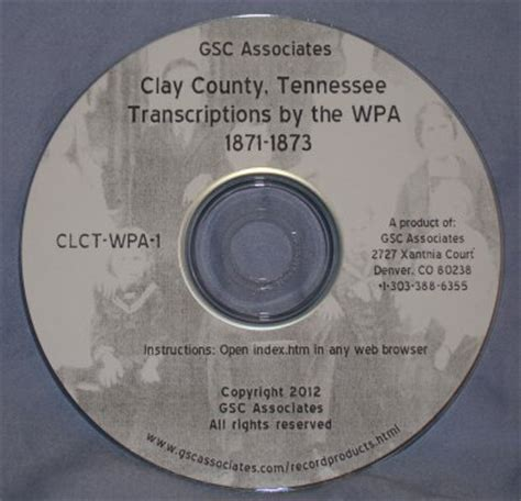 Clay County Records Bible Records Ancestorstuff