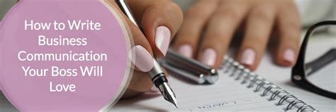 T And Coco To Write Relationship Guide by How To Write Business Communication Your Will