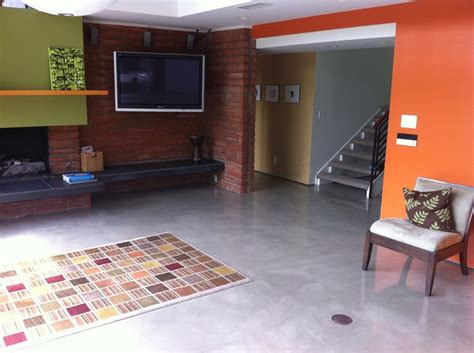concrete living room floor photo gallery concrete floors newport beach ca the