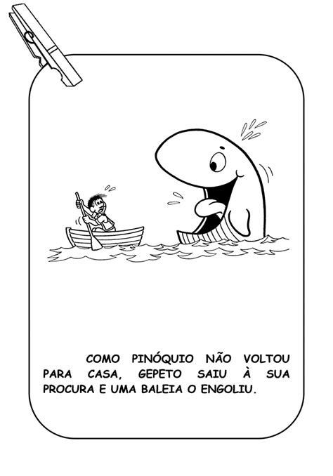 Varal de História do Pinóquio para imprimir - SÓ ESCOLA