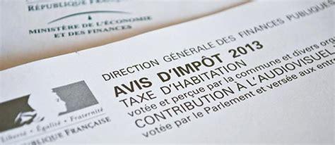 Taxe D Habitation Meublé Qui Paye by Impots Locaux