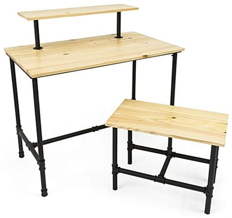 displays2go display products pos retail fixtures set of pipe retail nesting tables 3 tier design