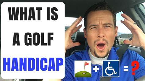 golf handicap golf handicap explained youtube