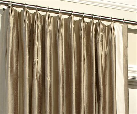 styles of curtains drapery pleat styles