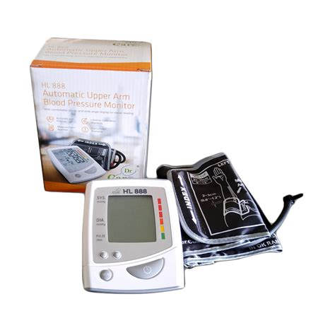 Tensi Meter Digital Hl 888 harga dr care hl 888 tensimeter digital alat monitor