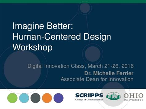 Mba Innovation And Data Analysis by Digital Innovation And Human Centered Design 032016