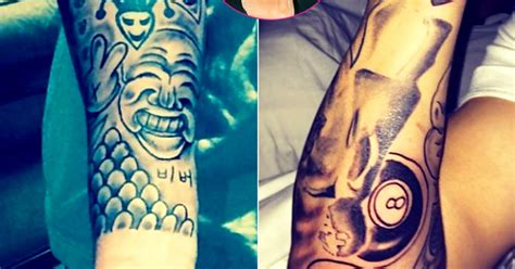 justin bieber last tattoo justin bieber completes sleeve tattoo says he s done for