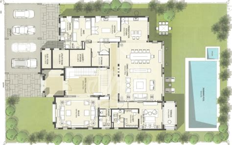 District One Dubai Floor Plans - modern arabic style villa in district one mbr city