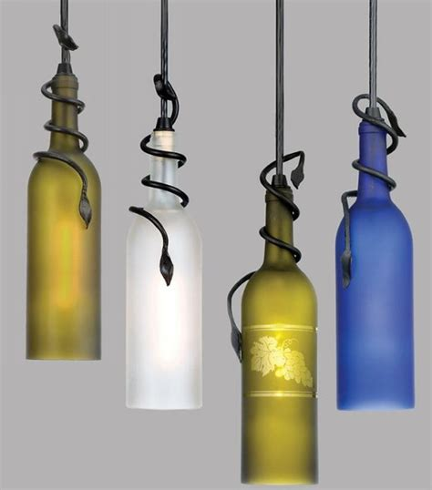 recycled glass pendant light recycled glass bottles modern ls recycled things