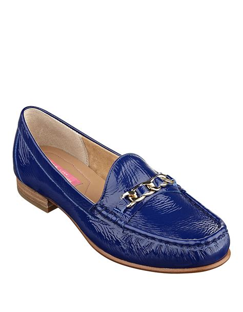 isaac mizrahi loafers isaac mizrahi new york diana patent leather loafers in