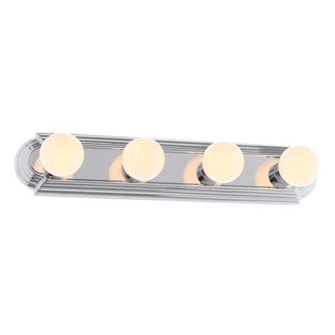 bath light hton bay 4 light chrome raceway bath light ew554ch