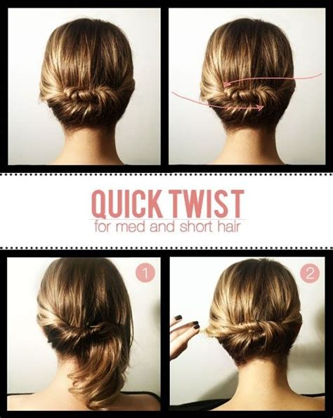 diy hairstyles quick and easy 15 easy diy hair updo s artzycreations com
