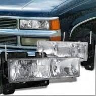 94 98 chevy silverado 1500 2500 projector headlight