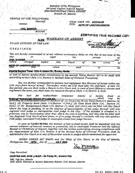 Warrant Arrest Search Warrant Arrest Images