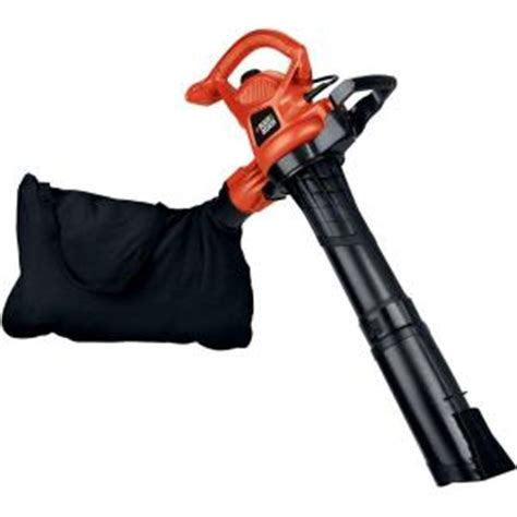 black decker 250 mph 400 cfm 12 electric leaf blower