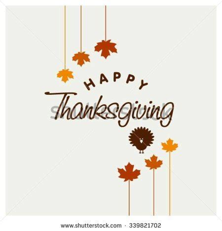Thanksgiving Card Template Free Illustrator by Happy Thanksgiving Day Typographic Poster Design Template
