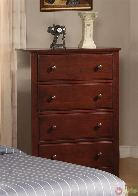 parker bedroom furniture parker mission style brown cherry finish twin bedroom set