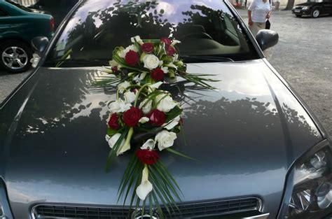 d 233 coration florale de la voiture des futurs mari 233 s galerie photo