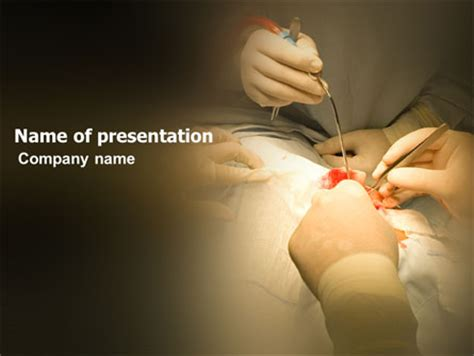templates powerpoint surgery surgical technology powerpoint template backgrounds