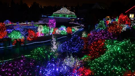 5 Festive Ways To Enjoy Holiday Lights Kidventurous Zoo Lights Point Defiance Zoo