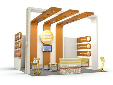 booth design services booth design for quot leon service plus quot aqua therm 2012 on