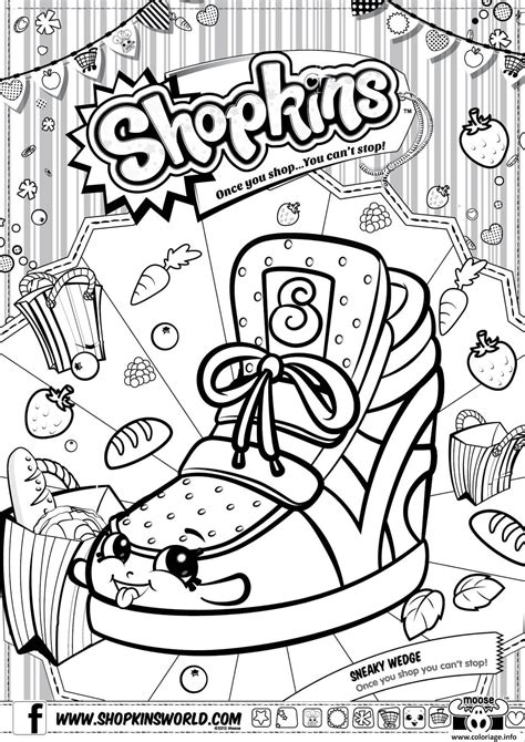 shopkins coloring pages you can print coloriage shopkins season 3 dessin