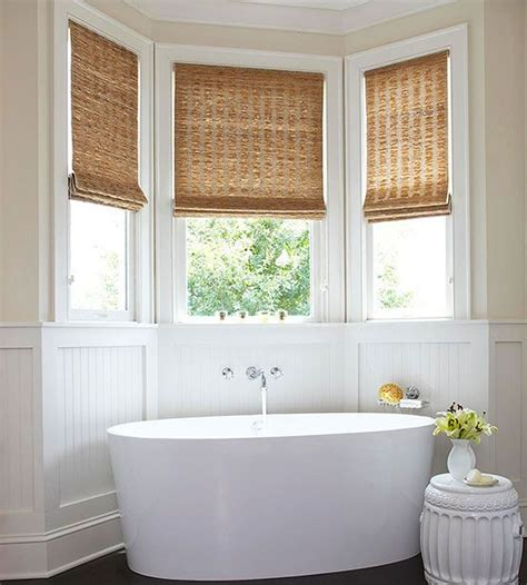 ideas for bathroom window treatments 15 bathroom window treatment ideas