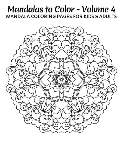 mandala coloring pages for relaxation free mandala for relaxation coloring pages